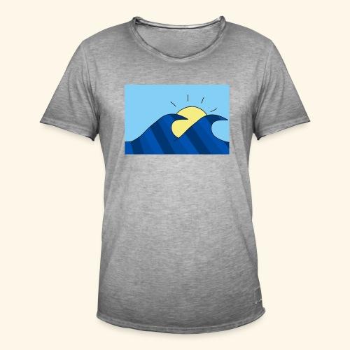 Espoir double wave - Men's Vintage T-Shirt