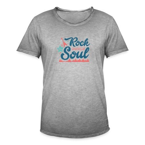 Rock Heals The Soul - Men's Vintage T-Shirt