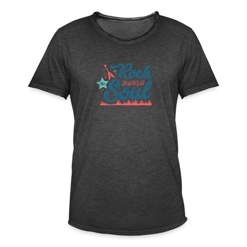 Rock Heals The Soul - Men's Vintage T-Shirt