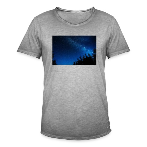 sterrenhemel afdruk/print - Mannen Vintage T-shirt