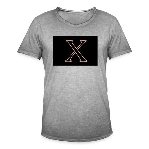 Logo X - Vintage-T-shirt herr