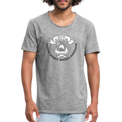 FW Slogan - Männer Vintage T-Shirt