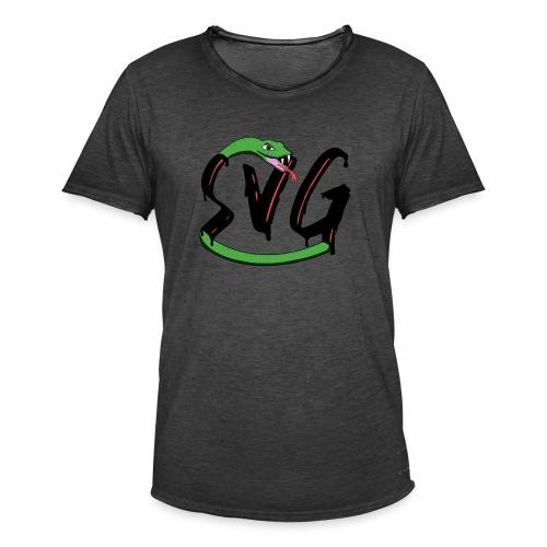 Savage Snake - Mannen Vintage T-shirt