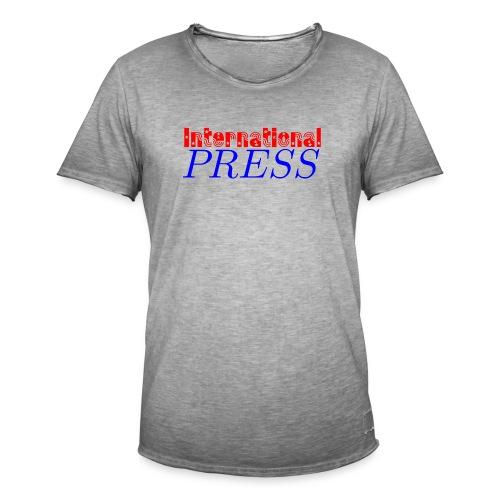 int_press-png - Maglietta vintage da uomo