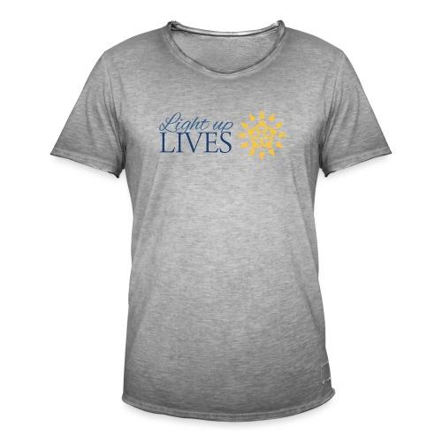 Light up Lives - Men's Vintage T-Shirt