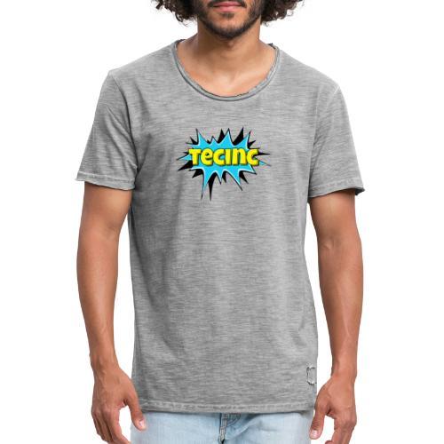Cartoon logo - Herre vintage T-shirt