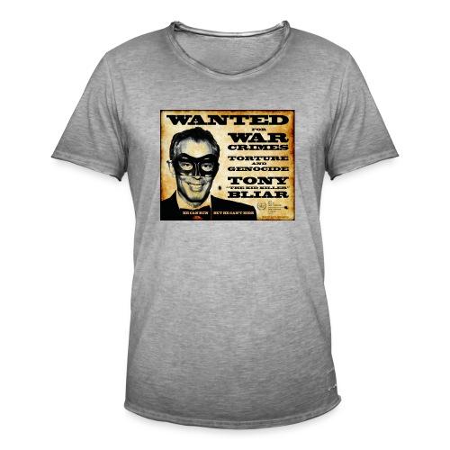 Wanted - Men's Vintage T-Shirt