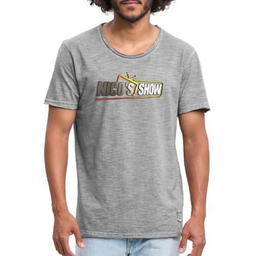 Nicos Show - Männer Vintage T-Shirt