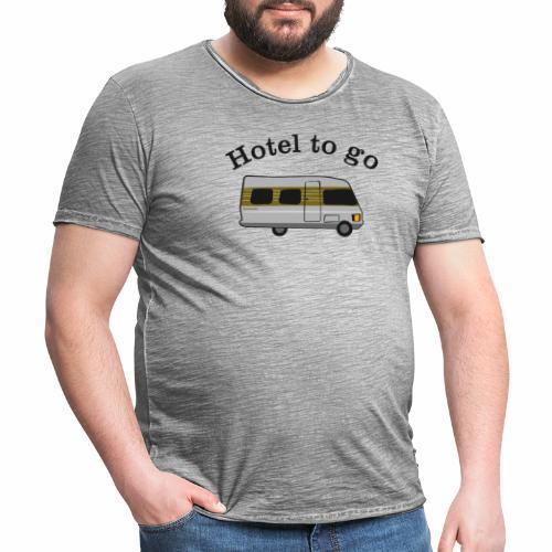 Hotel to go - Männer Vintage T-Shirt
