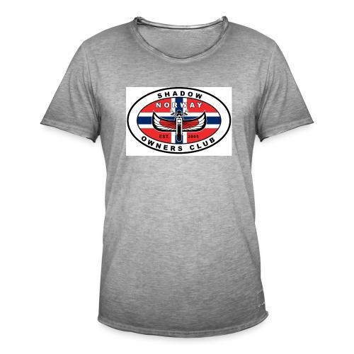 SHOC Norway Patch jpg - Vintage-T-skjorte for menn