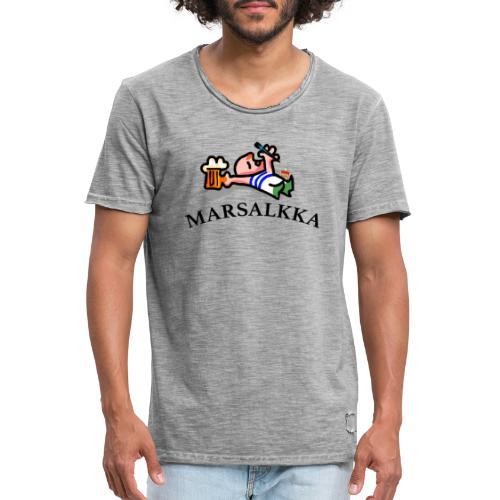 marsalkka - Miesten vintage t-paita