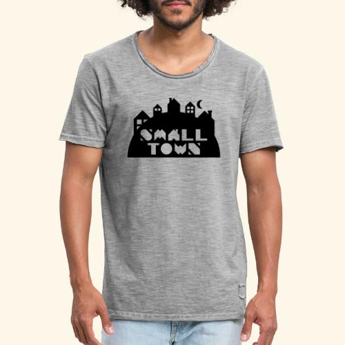 Small Town - Vintage-T-skjorte for menn