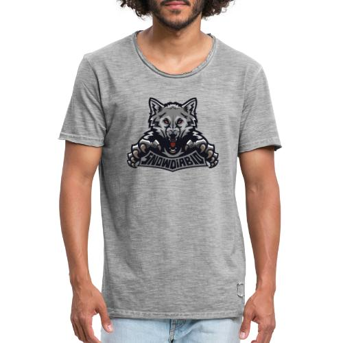 snowdiablo officiel logo - T-shirt vintage Homme