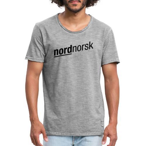 Uttrykkelig nordnorsk - Vintage-T-skjorte for menn