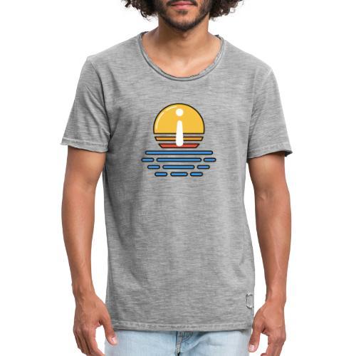 Mentor Dämmerung - Männer Vintage T-Shirt