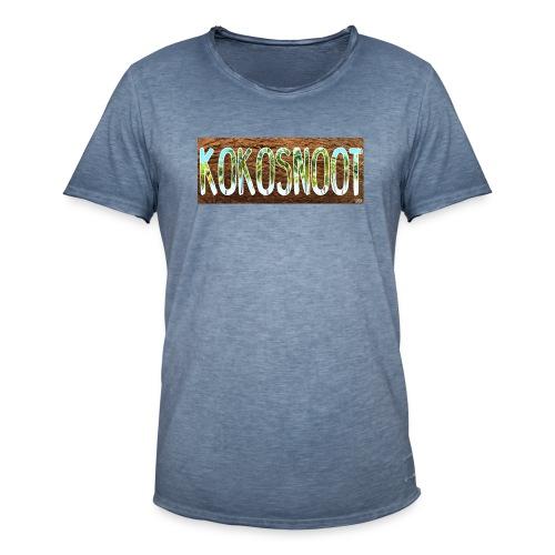Kokosnoot - Mannen Vintage T-shirt