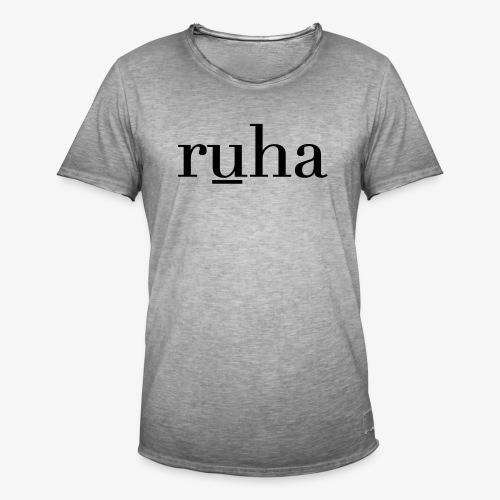 Ruha - Mannen Vintage T-shirt