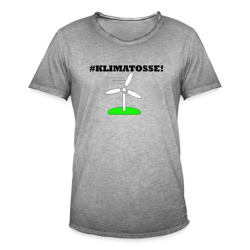 klimatosse - Herre vintage T-shirt