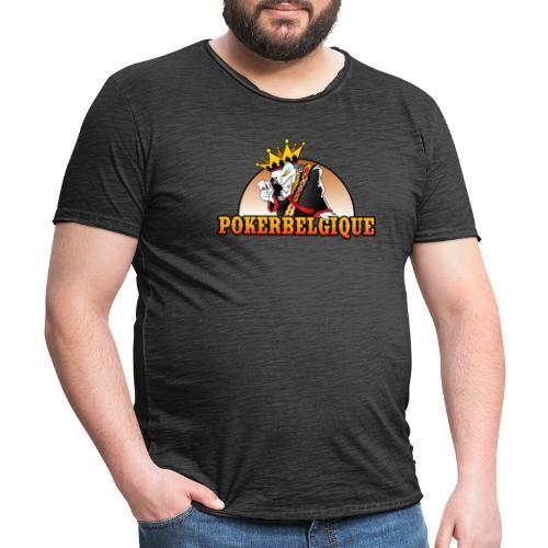 Logo Poker Belgique - T-shirt vintage Homme