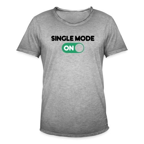 single mode ON - Maglietta vintage da uomo