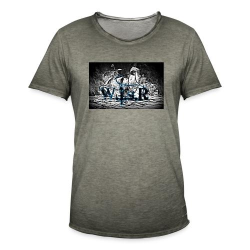 Naisten T-Paita - Miesten vintage t-paita