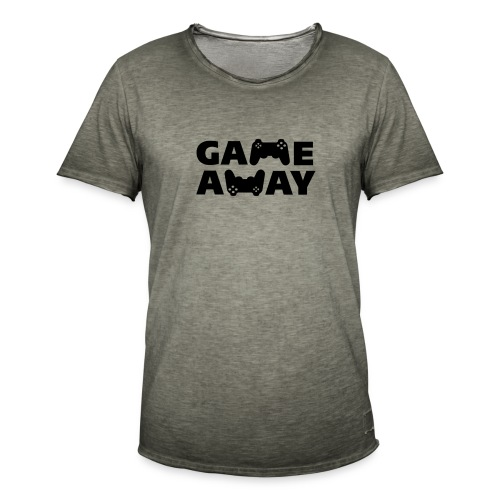 game away - Mannen Vintage T-shirt