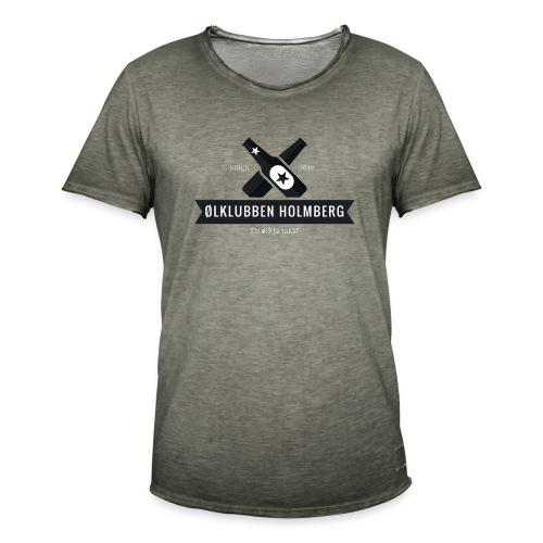 Øl-forkle - Vintage-T-skjorte for menn