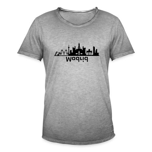 Madrid Skyline - Männer Vintage T-Shirt