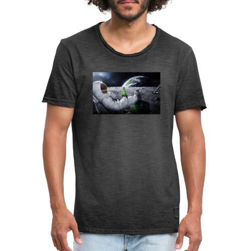 AstroBeer - Männer Vintage T-Shirt
