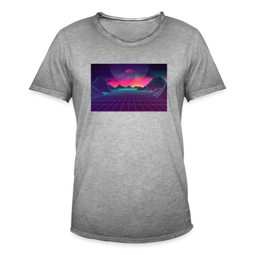 uiCXvbi - Männer Vintage T-Shirt