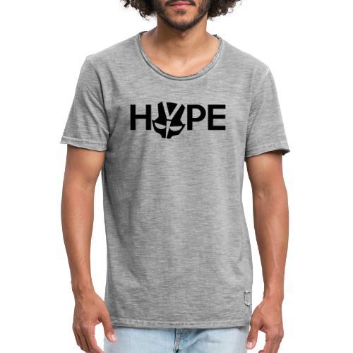 H3PE Danmark hyldest - Herre vintage T-shirt