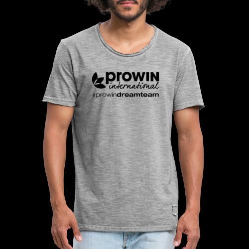 prowin Logo - Männer Vintage T-Shirt