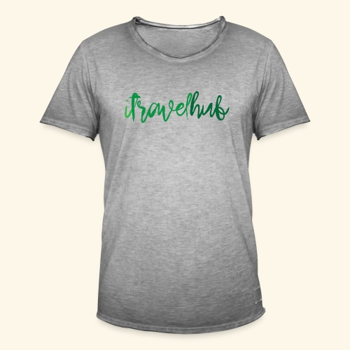 itravelhub logo - Men's Vintage T-Shirt