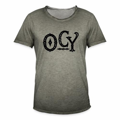 OCY - Männer Vintage T-Shirt