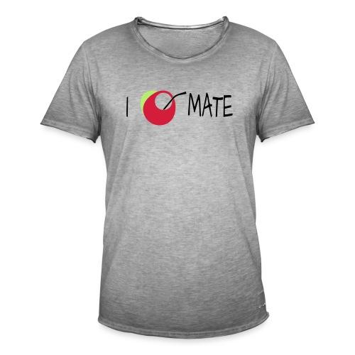 I love mate - Männer Vintage T-Shirt