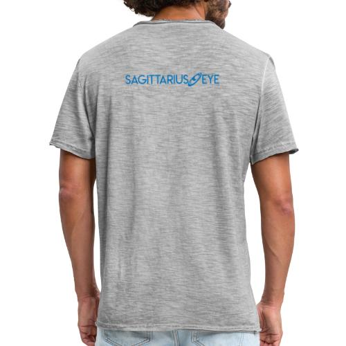 Sagittarius Eye Dual Branded - Men's Vintage T-Shirt