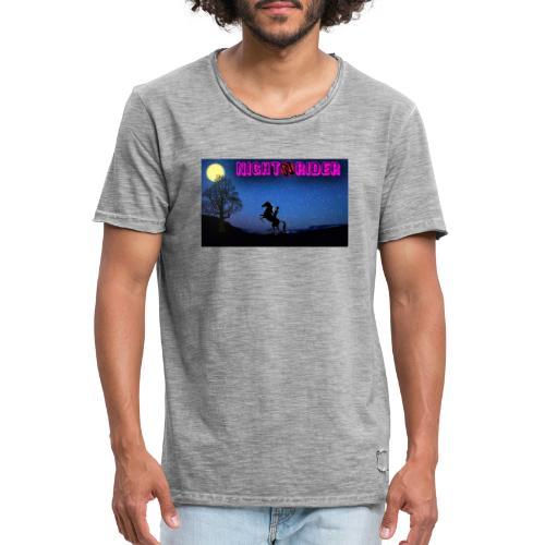 nightrider merch - Herre vintage T-shirt