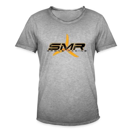 SMR WHITE - T-shirt vintage Homme