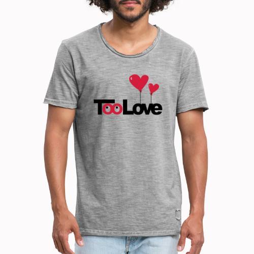 toolove22 - Maglietta vintage da uomo