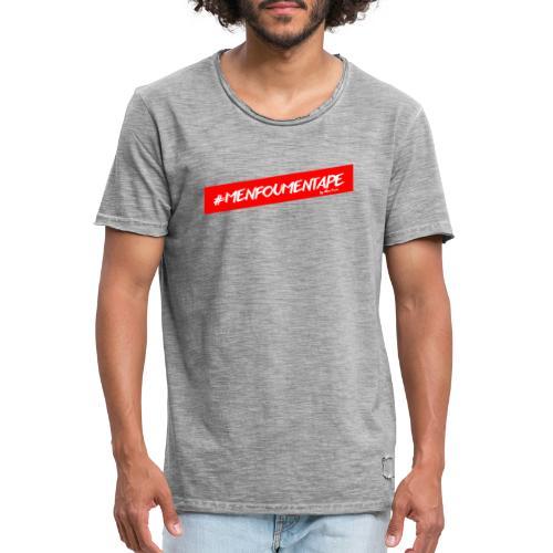 MENFOUMENTAPE Hashtag by Alice Kara - T-shirt vintage Homme