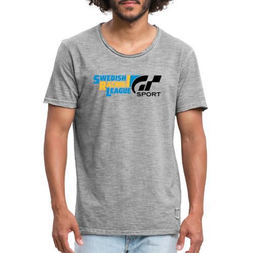 Swedish Racing League GT Sport svart - Vintage-T-shirt herr