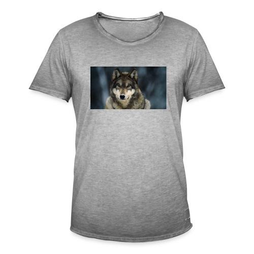 wolf shirt kids - Mannen Vintage T-shirt
