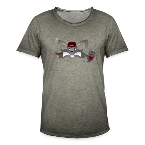 Hallo How are you - Herre vintage T-shirt
