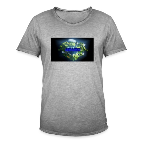 T-shirt SBM games - Mannen Vintage T-shirt