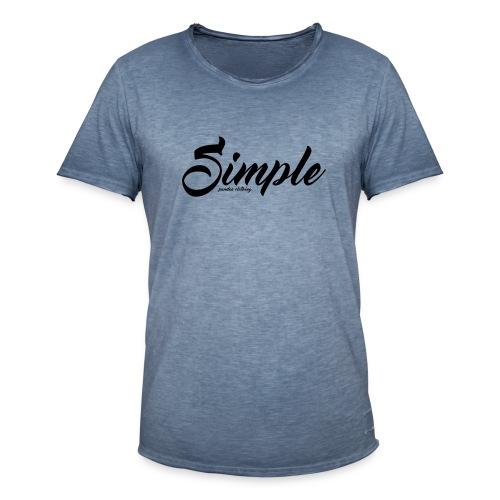 Simple: Clothing Design - Men's Vintage T-Shirt