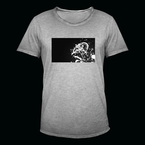 h11 - T-shirt vintage Homme