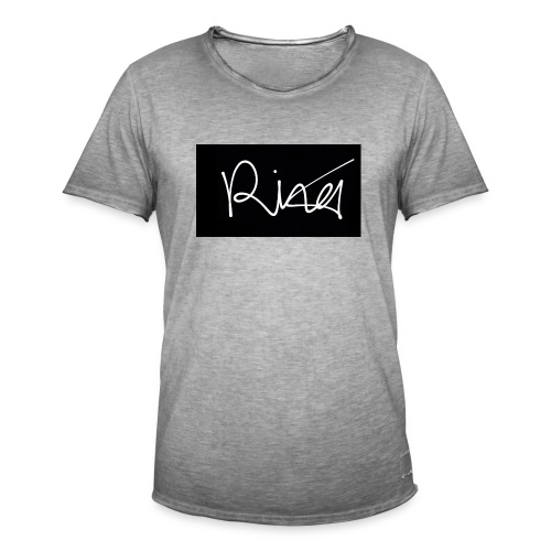 Autogramm - Männer Vintage T-Shirt