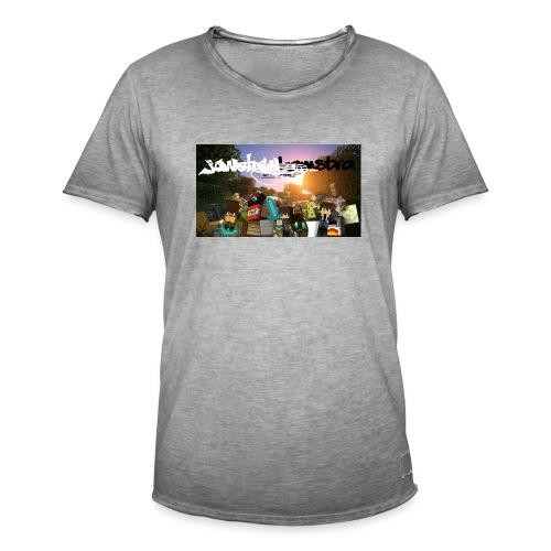 6057231244D88B5F5DED63C6F58FB0122038CBC7A63A50B55 - Men's Vintage T-Shirt