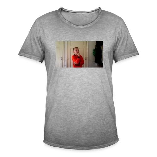 generation hoedie kids - Mannen Vintage T-shirt