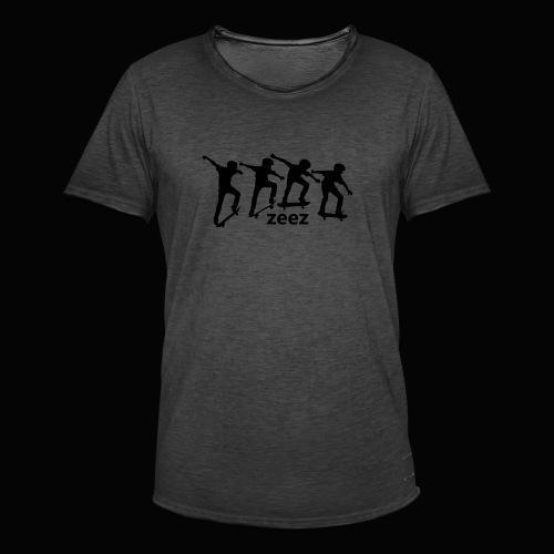 zeez skate - T-shirt vintage Homme
